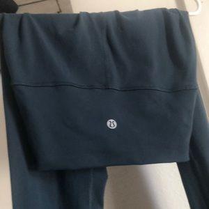 Lululemon Wunder Under blue leggings, used